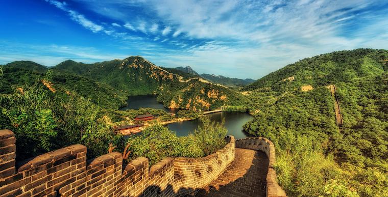 Verdens største land, Kina